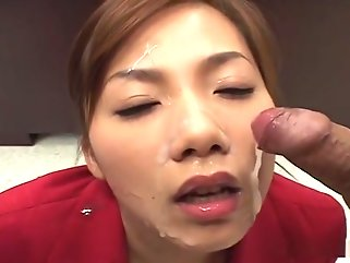 asian cumshots