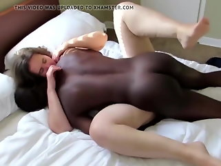 blonde interracial