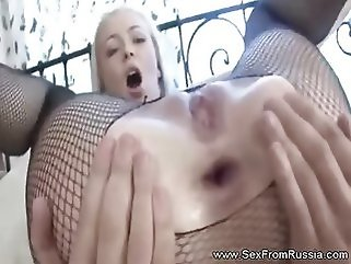 fishnet blonde